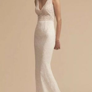 BHLDN Indiana Wedding Dress by Katie May Size 4